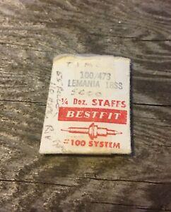 Lemania-5000-vintage-stop-watch-balance-staff-5020-5040-5060-Swiss-NOS-part