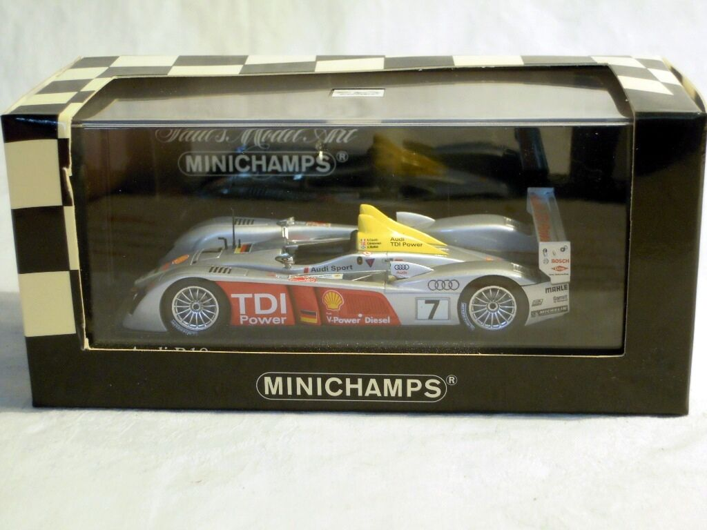 almacén al por mayor Minichamps Minichamps Minichamps 400061607  audi r10, 24h le mans 2006,  7, limitado, nuevo & OVP  caliente