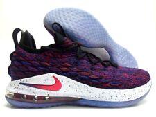 c64219571010da Nike Mens Size 10 Lebron 15 Low Supernova Multicolor SNEAKERS Ao1755-900