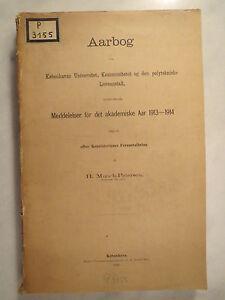 Universitaet-Kopenhagen-Kobenhavn-Aarbog-Jahrbuch-1913-1914-Studentika
