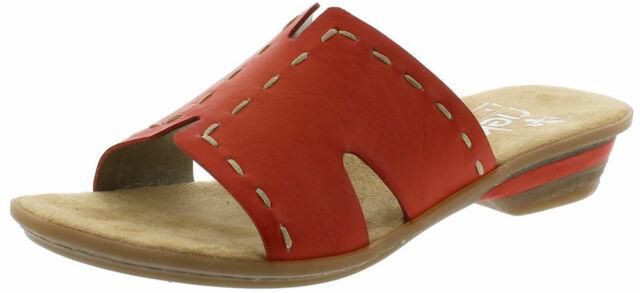 Damenschuhe Rieker Klassische Sandalen beige 64265 80 | Schuhe24