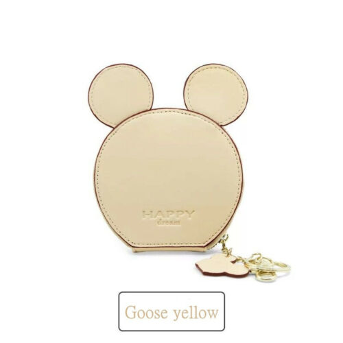 MICKEY MOUSE Wallet Card Holder Badge Purse card holder key chain money bag gift