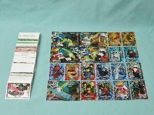 Lego-Ninjago-Serie-5-Trading-Card-Game-alle-252-Karten-komplett-Set
