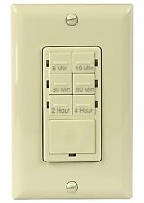 Kitchen Countdown Timer Light Switch for LED/CFL/Motors/Fans/Appliances Ivory