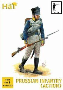 Hat 1/72 Napoléonienne Prusse Infanterie (action) #8254 Utilisation Durable