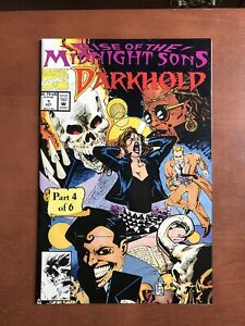 Darkhold-1-1992-9-2-NM-Marvel-Key-Issue-Comic-Book-Rise-Midnight-Sons