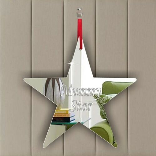Personalised Star Hanging Decor-Teacher-Birthday Party-Present-Gift Tag