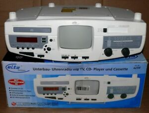 Fernseher Unterbau Küche | Elta 4254 4in1 Kuchen Unterbauradio Cd Player Kassetten Deck