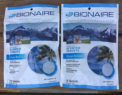 Bionaire Humidifier Aromatherapy Tablets in Lavender and