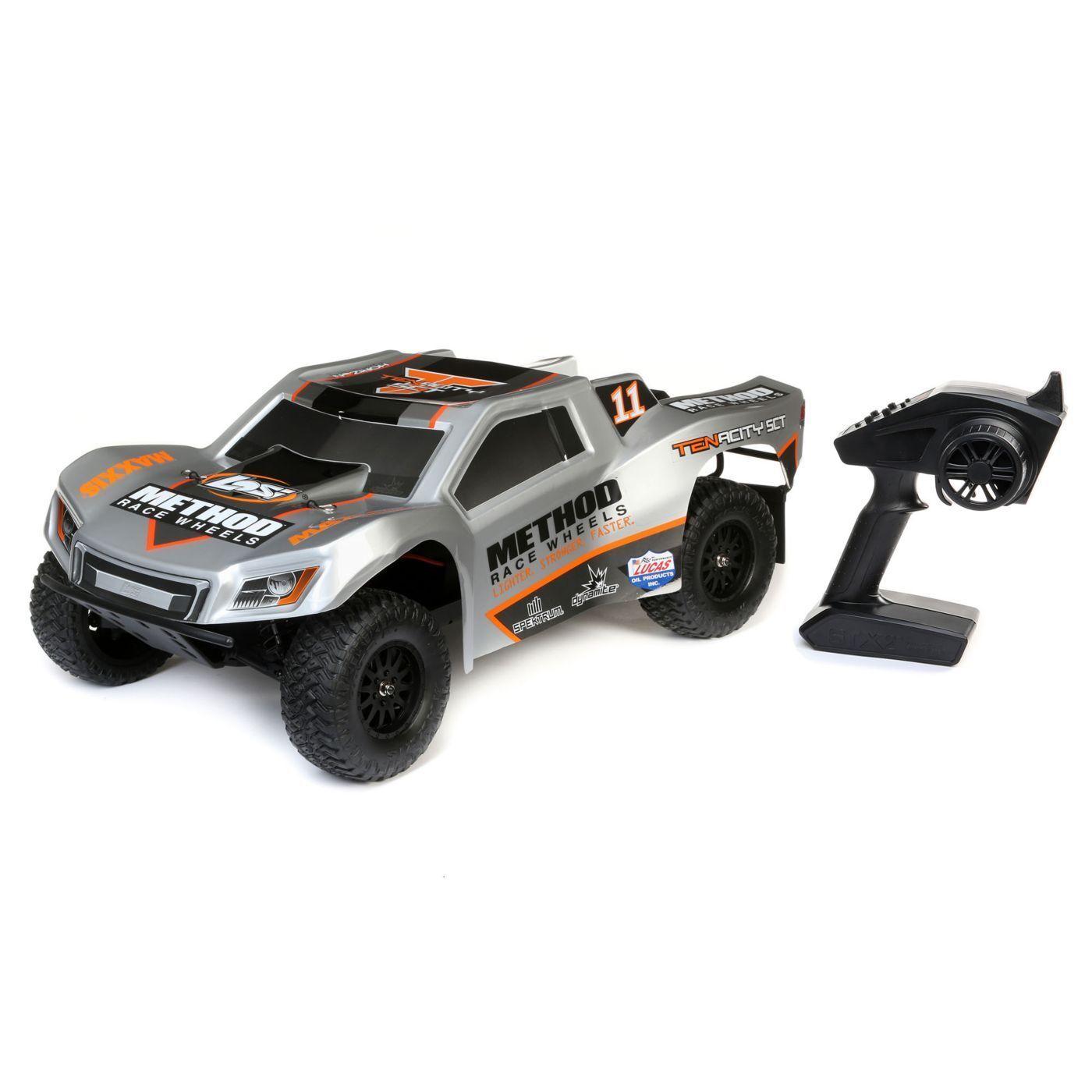 Tenacidad Losi de LOS03024T1 1 10 RTR 4WD corto Curso Camión (método)