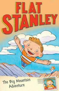 Flat-Stanley-The-Big-Mountain-Adventure-by-NEW-Book-FREE-amp-Fast-Delivery-P