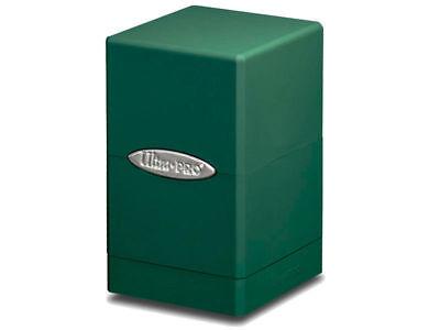 Ultra Pro Satin Tower Deck Box Lime Green Magic Pokemon Vanguard Dragon Yugioh