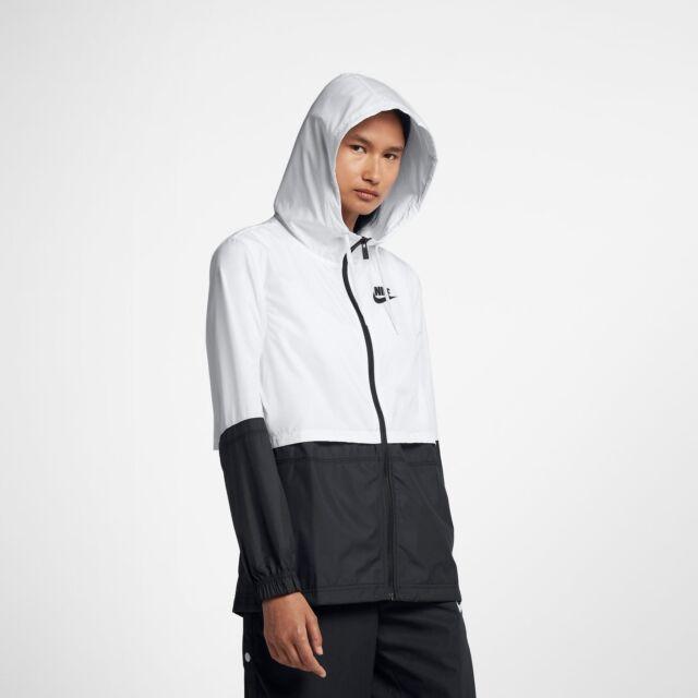 Buy Nike Sportswear Woven Lightweight Jacket Black White Aj2984-102 ... ec61b2a63