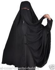 Extra long niqab-Khimar Hijab Burqa Islamic Face Cover Veil Burka Muslim, 385