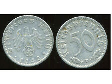 ALLEMAGNE  WW II     50 reichspfennig  1940 D