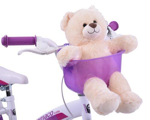 KIDDIES BIKE TEDDY OR DOLLY CARRIER TO FIT ON HANDLEBARS PURPLE GREAT PRESENT