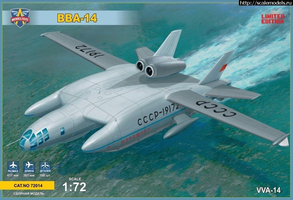 Vva-14 (Bartini) Modelsvit Plástico Kit 1 72