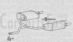 EXFD6381-EXHAUST-SILENCER-TAIL-PIPES-RH-amp-LH-3Yr-Warranty