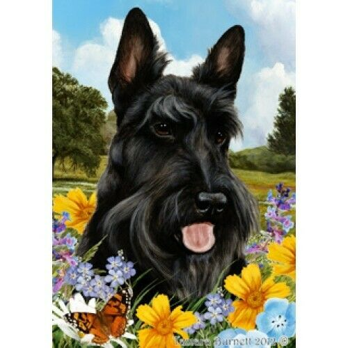 Summer Garden Flag Scottish Terrier 180431