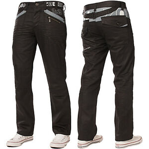 Enzo-Mens-Straight-Leg-Jeans-Regular-Fit-Black-Denim-Pants-Big-Tall-All-Waists