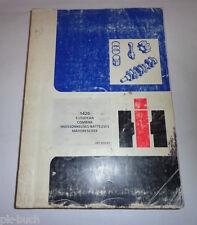 Teilekatalog Parts Catalog International Harvester Mähdrescher 1420 1984