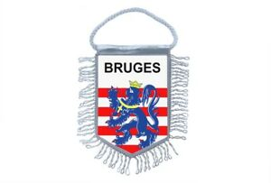 Mini-banner-flag-pennant-window-mirror-cars-country-banner-belgium-bruges