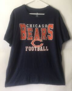 Chicago-Bears-NFL-Football-Vintage-Style-T-Shirt-Size-XL