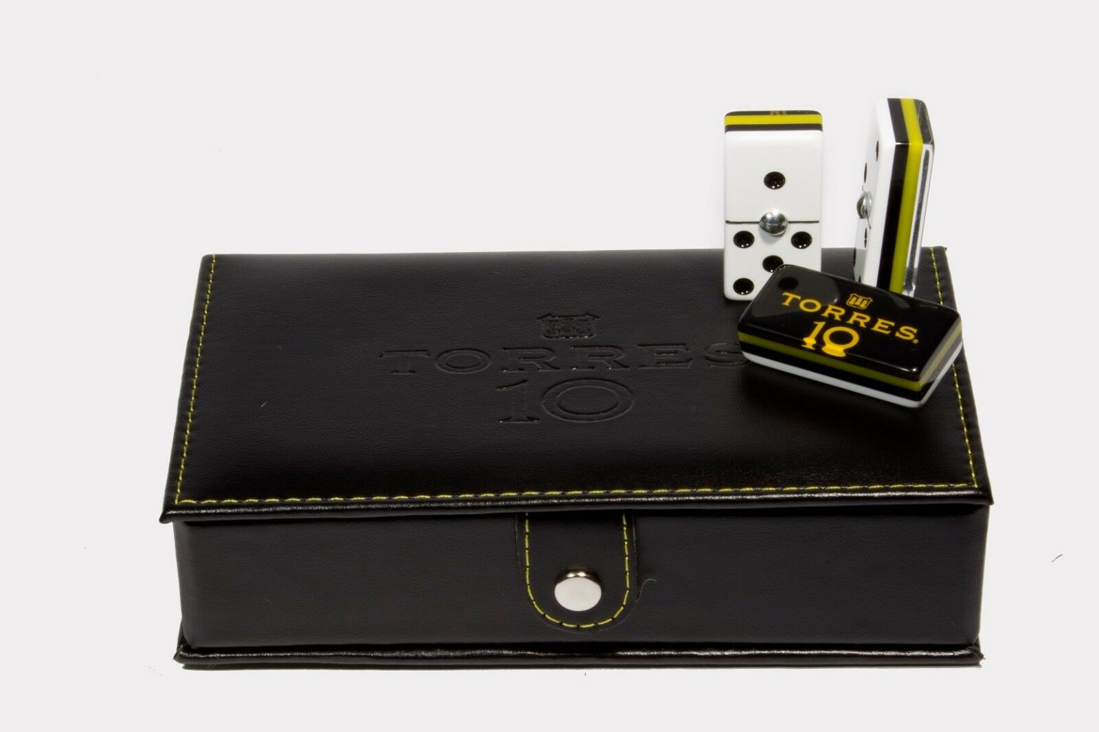 Torres 10 Domino 100% Acrylic, Faux Leather Case