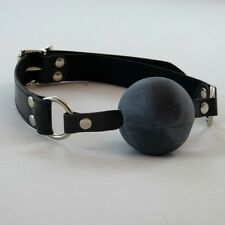 X_Large lockable ball gag - black ball (GB-56-Black),FREE UK DELIVERY