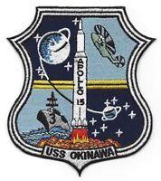 Lph-3 Uss Okinawa Iwo Jima-class Amphibiousassault Ship Military Patch Apollo 15