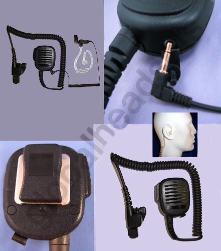 Lapel Shoulder Speaker Microphone for Motorola HT MT XTS MTX GP MTS 2000 Astro