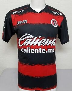 best service 2bff8 9624a Details about Xolos de Tijuana Men's Home 2018 Soccer Jersey Made in Mexico