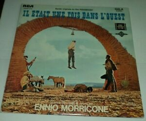 ONCE-UPON-A-TIME-IN-THE-WEST-Ennio-Morricone-LP-Record-French-Cover
