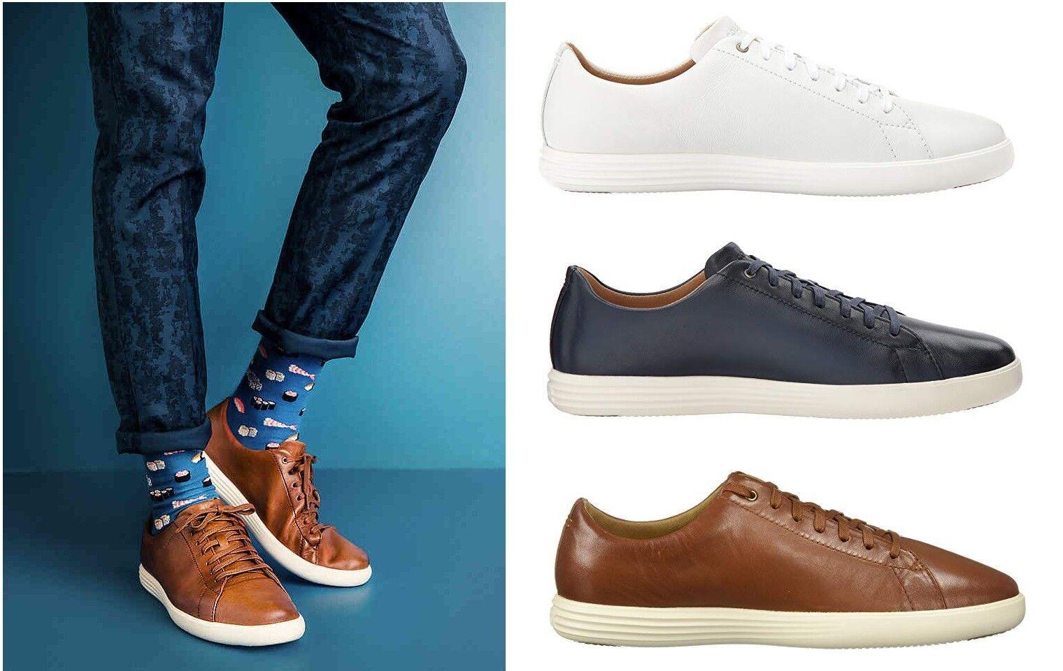 Cole Haan Para Hombres Zapatos Tenis grandpro Crosscourt II Zapatillas Nuevo Medio   ancho