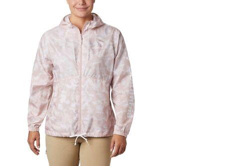 Columbia Women/'s Flash Forward™ Printed Mineral Pink Camo Windbreaker
