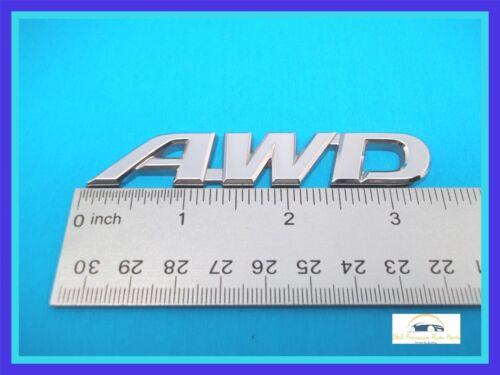 "Genuine OEM 2013-2015 Toyota RAV4 /""AWD"" Rear Hatch Emblem Nameplate"
