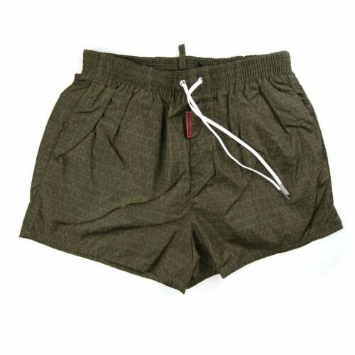 Dsquared2 All Over Print Shorts Khaki