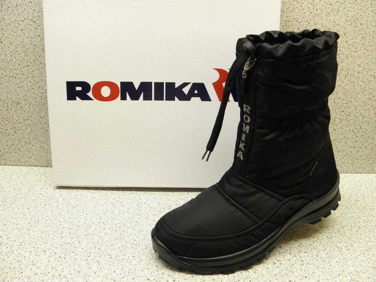 miglior servizio Romika ® riduce, finora   Alaska 118 118 118  neve Stivali, Nero (527)  contatore genuino