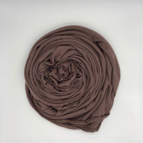 Scarf Hijab Jersey Stretchy Maxi Shawl Wrap Lycra Large Plain Quality Sarong Top