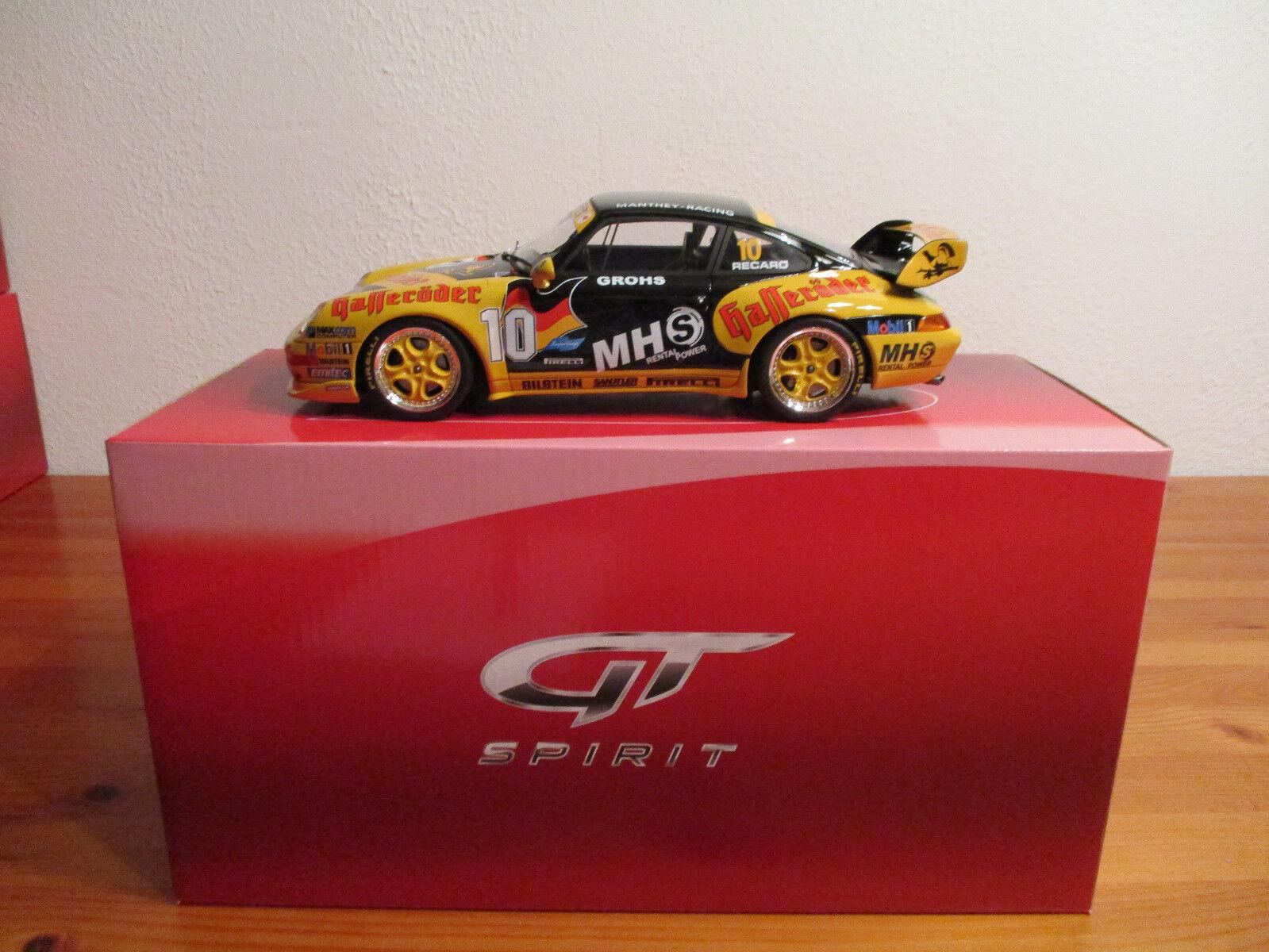 (GO) 1 18 GT Spirit Porsche 993 Super Cup Nouveau neuf dans sa boîte