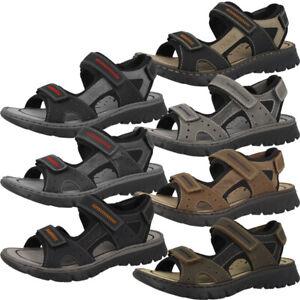 Details zu Rieker Scuba Schuhe Herren Sandale Antistress Outdoor Trekking Sandaletten 26757