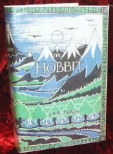 J.R.R. Tolkien - The Hobbit with a copy of the First Issue Dustjacket from 1937