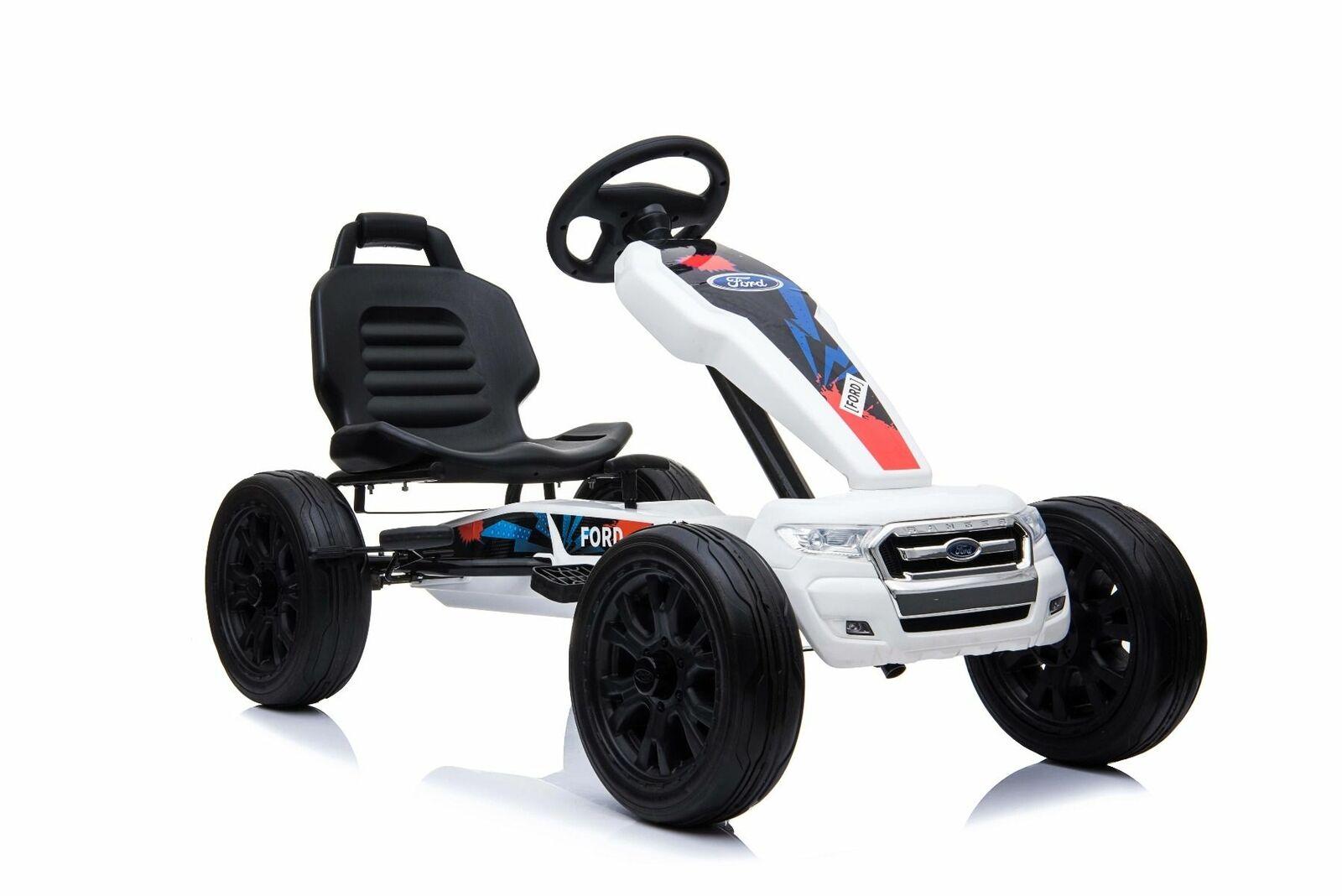 Go-Kart Ford Gocart Kinder Tretauto voituret Gokart Tretfahrzeug mit leerlauf Eva