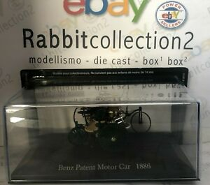DIE-CAST-034-BENZ-PATENT-MOTOR-CAR-1886-034-MERCEDES-COLLECTION-SCALA-1-43-45