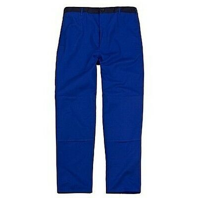 Krähe Arbeitshose Arbeitsbundhose kornblau Gr 58
