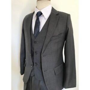Costume-Garcon-gris-TAILLE-8-ANS-costume-mariage-costume-enfant-ceremonie