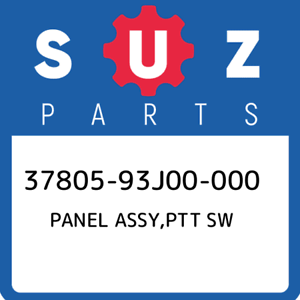 37805-93J00-000-Suzuki-Panel-assy-ptt-sw-3780593J00000-New-Genuine-OEM-Part