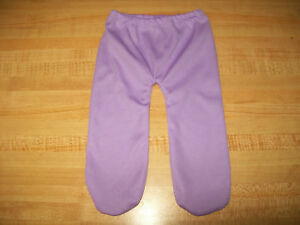 """BRIGHT ORCHID PURPLE LEGGINGS TIGHTS for 15-16-17/"""" CPK Cabbage Patch Kids"""