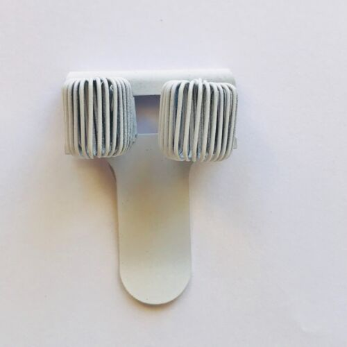 Folder Clip WHITE Metal DOUBLE  Holder Pocket Buy 1-10 Nurse
