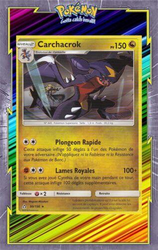 Carte Pokemon Neuve Française Carchacrok SL05:Ultra Prisme 99//156